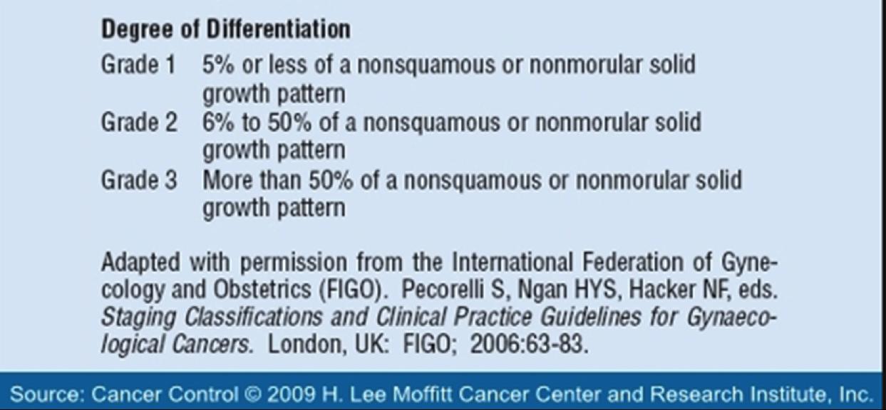 Tumor Grade and Stage (Foundation 2 Wk 4) Flashcards | Memorang