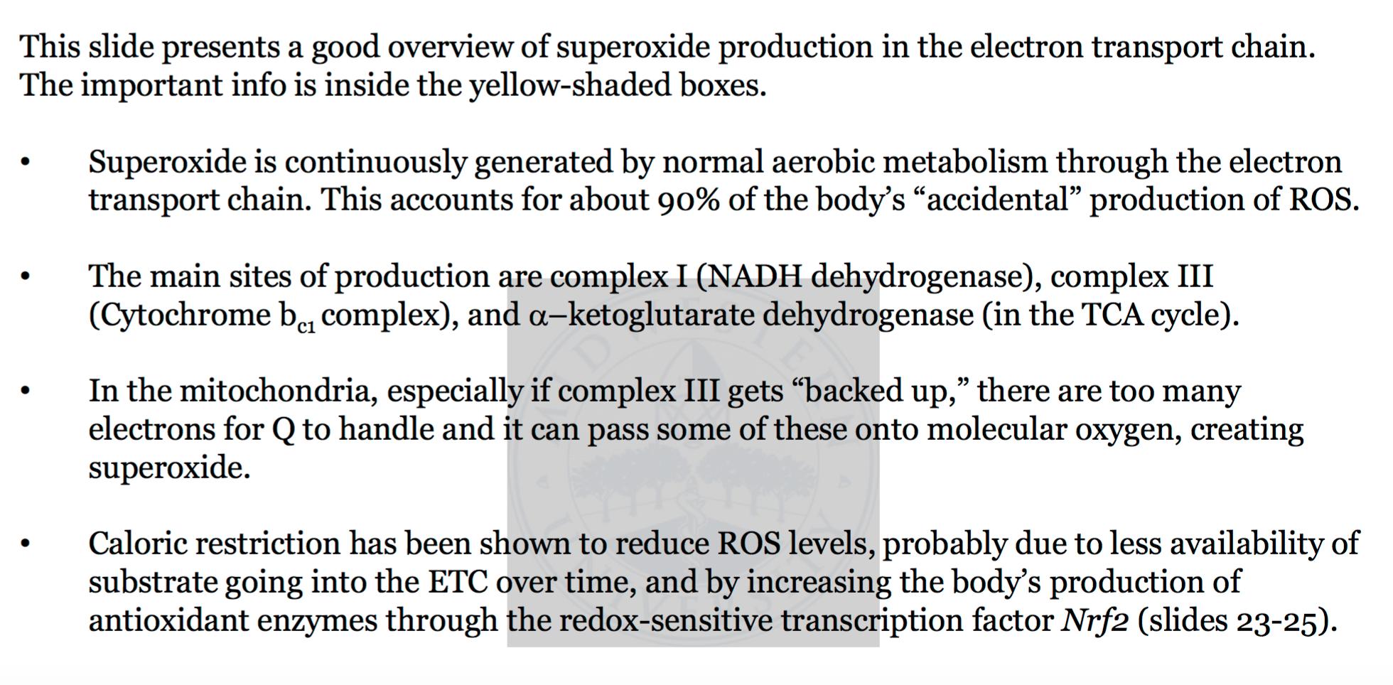 Biochemistry L18 Antioxidants (Biochemistry Unit 7