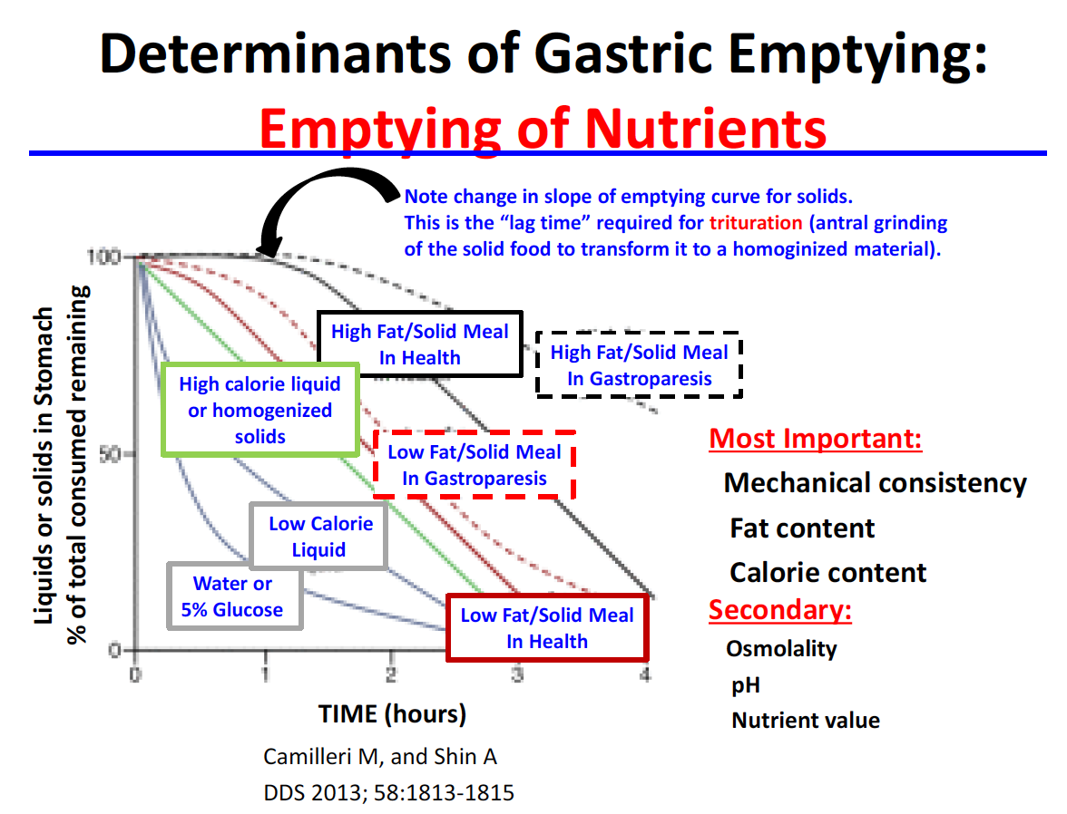 Gastric Motility, Gastroparesis and Non-Ulcer Dyspepsia 5/24 (GI