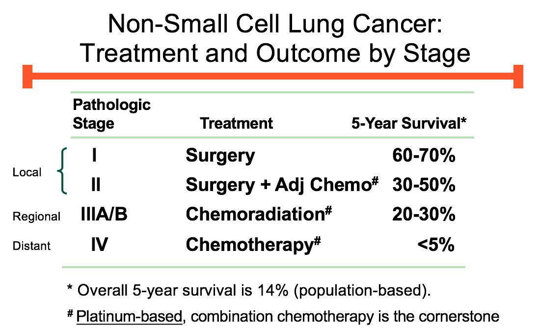 Week 6 - Lung Cancer (MCC) Flashcards   Memorang