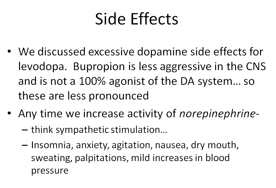 Lecture 1-2: Dopaminergic Agents (Pharmacology Unit 3